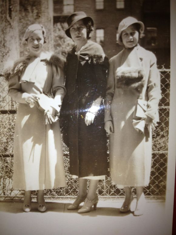 Great pic of three hot women, dear to me, out on the town in NYC, circa 1940