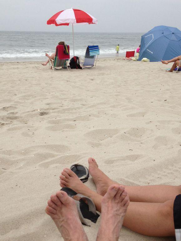 Beach Scenes:  Cape May Day Trip